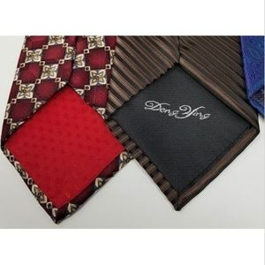 Accessories - 6 men's ties various brands colors and patterns